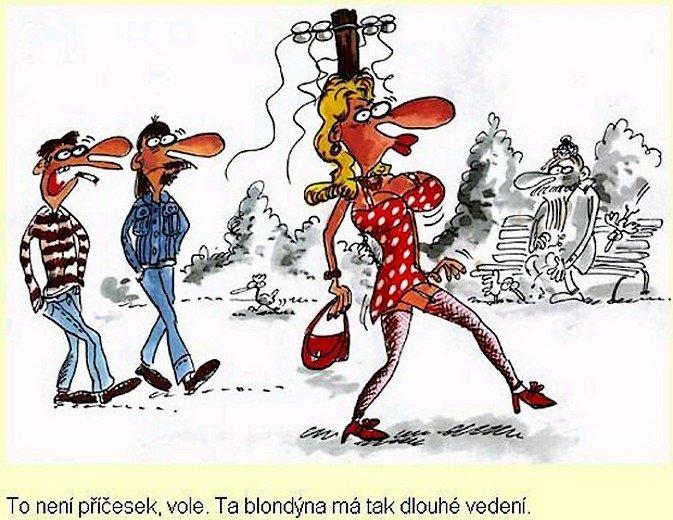 Kreslene Vtipy Smisene